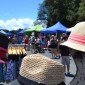 Hat celebration at the Rototuna Market.  Pic:  Annette Taylor