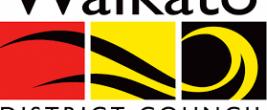 Waikato District Council logo