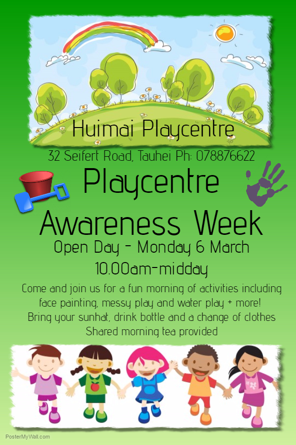 Support your playcentre