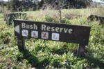 Pukemokemoke reserve sign