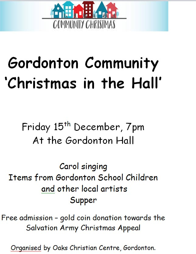 Christmas Gordonton