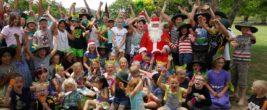 Santa visits Whitikahu School