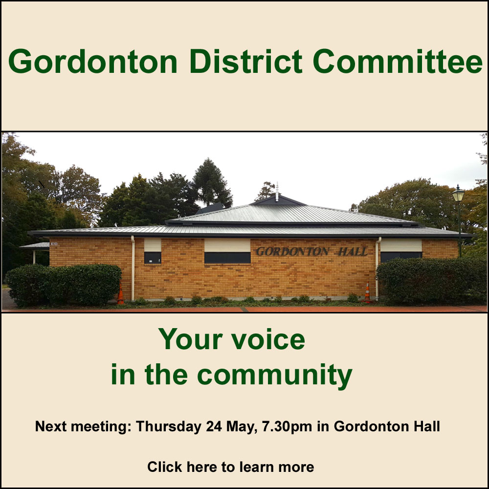 Gordonton District Committee